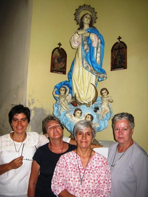 da esq para a dir Beatriz, Lucia, Eduarda e Ana